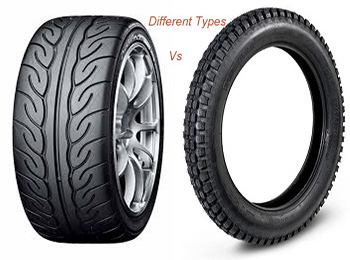 different tires